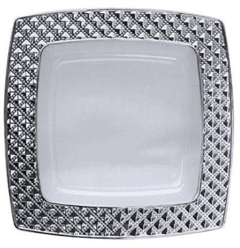 vaisselle jetable chic elegant maison futee couverts plastique argents pices with vaisselle. Black Bedroom Furniture Sets. Home Design Ideas