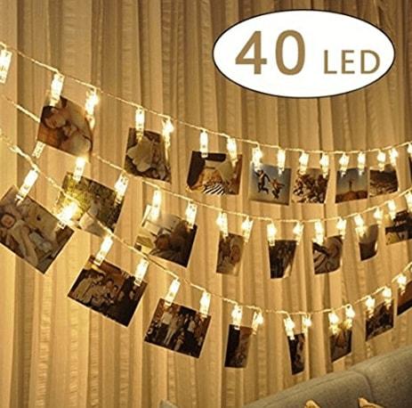 d co salle de mariage guirlande led clips photos d co mariage chic mon mariage parfait. Black Bedroom Furniture Sets. Home Design Ideas